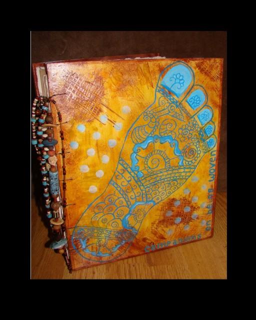 """Bound 10X12"""" journal"""