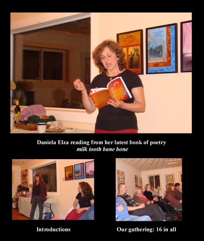 poetry evening w Daniela