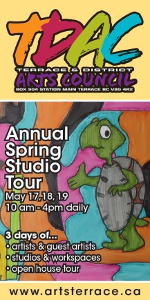 Spring Studio Tour 2014 ad