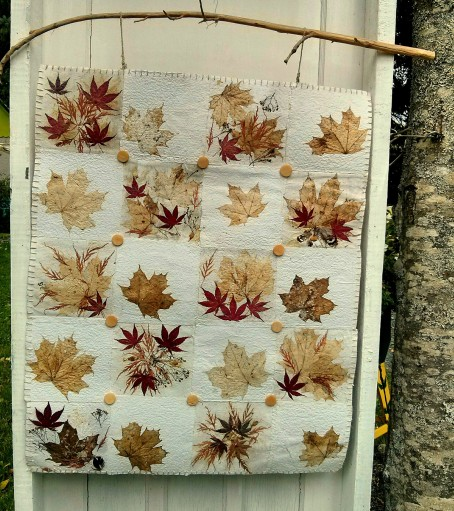 Paper quilt front outside